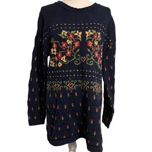 Vintage Northern Reflections 1980's Long Sweater